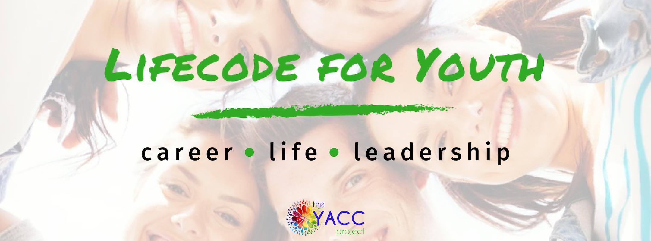 Lifecode for Youth banner